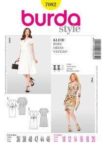 Pattern envelope photo for Burda 7082